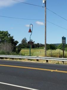 El Camino Real Route Marker