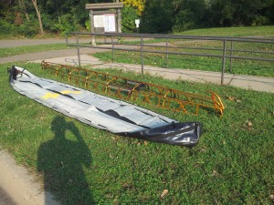 Kayak Frame Assembled