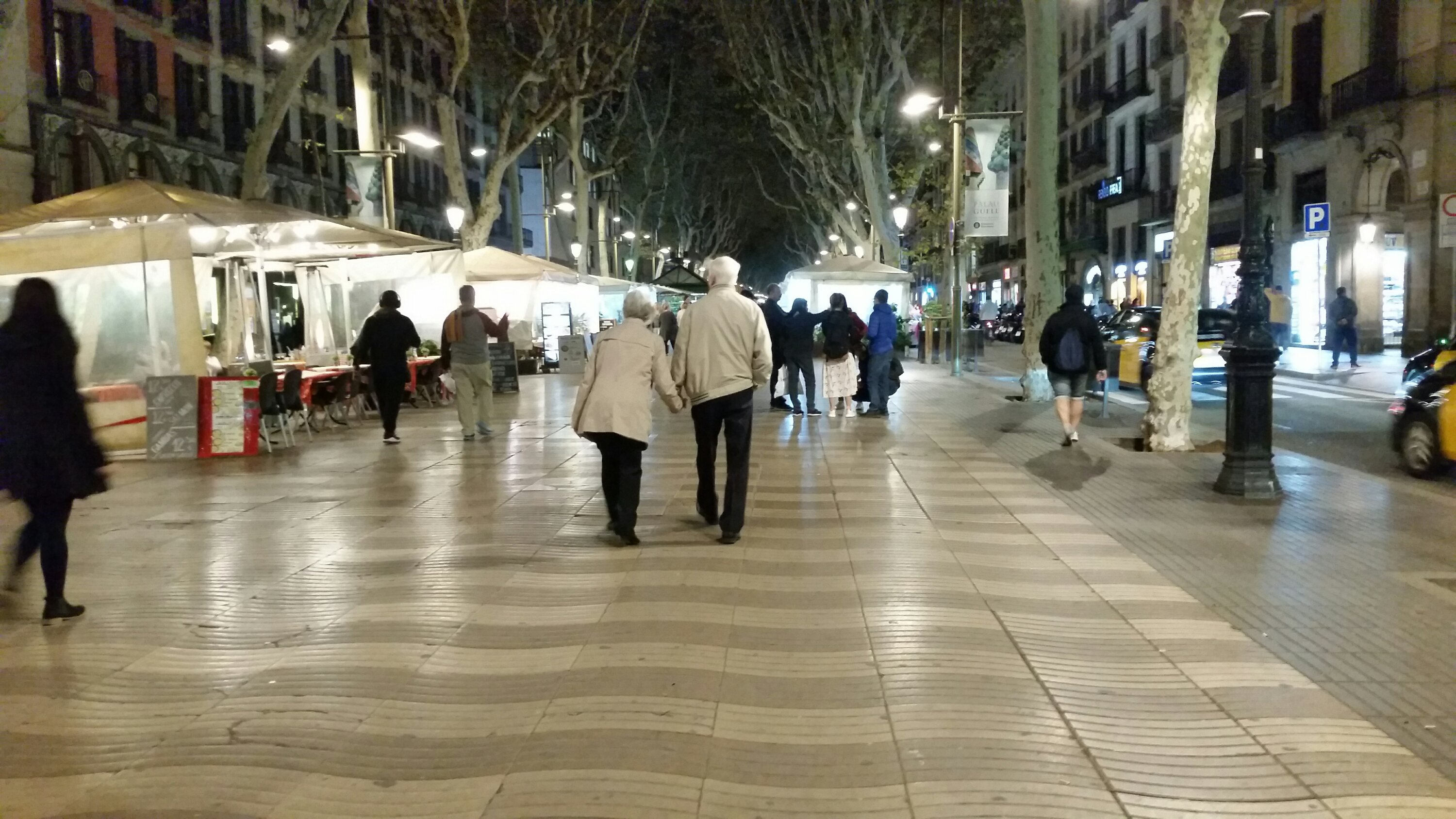Las Ramblas Are Empty