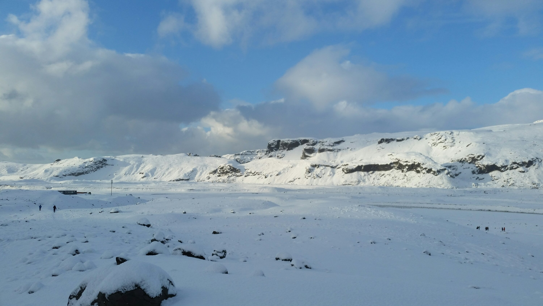 Sunny Sólheimajökul Glacier