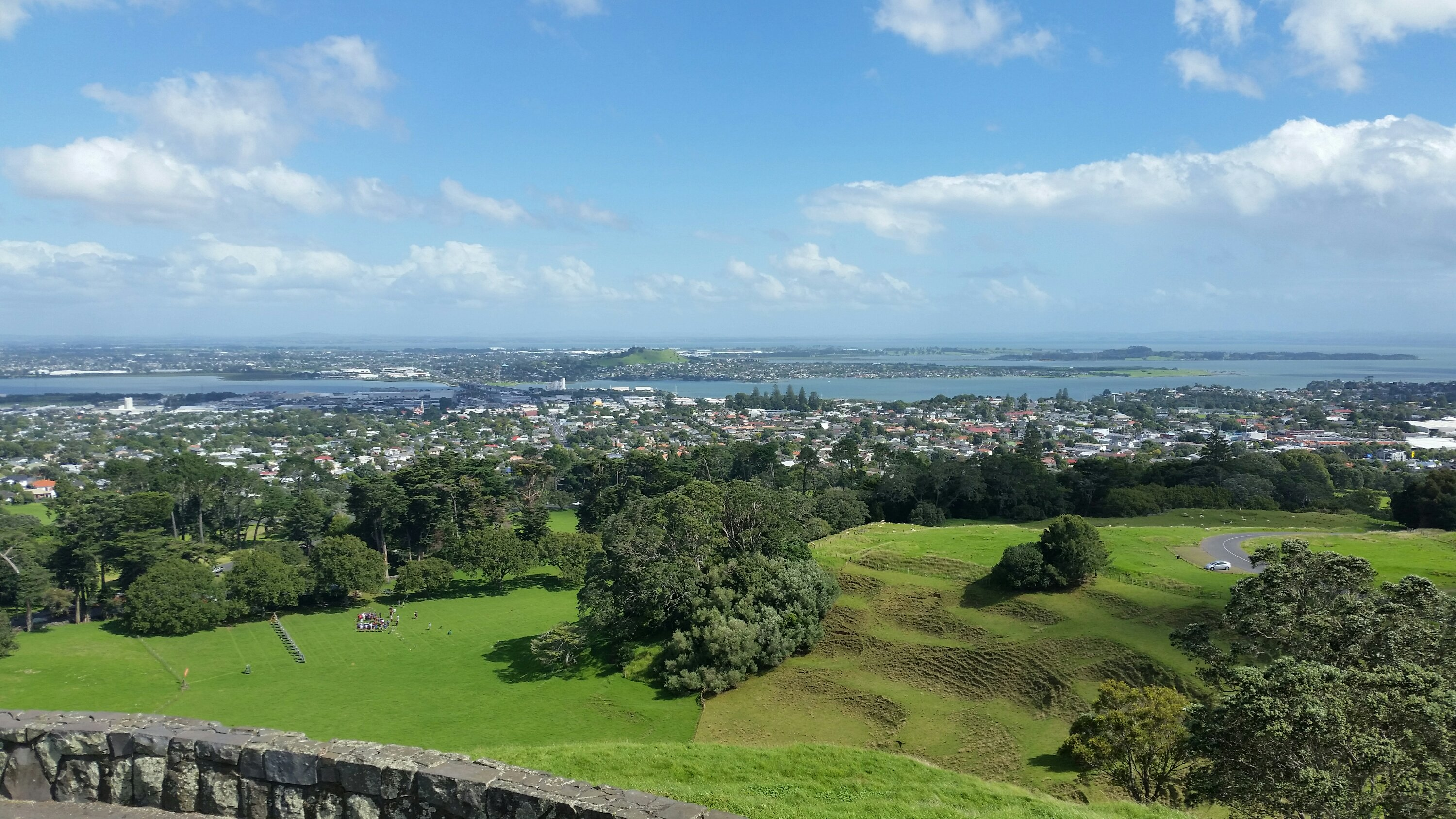 Auckland View to West