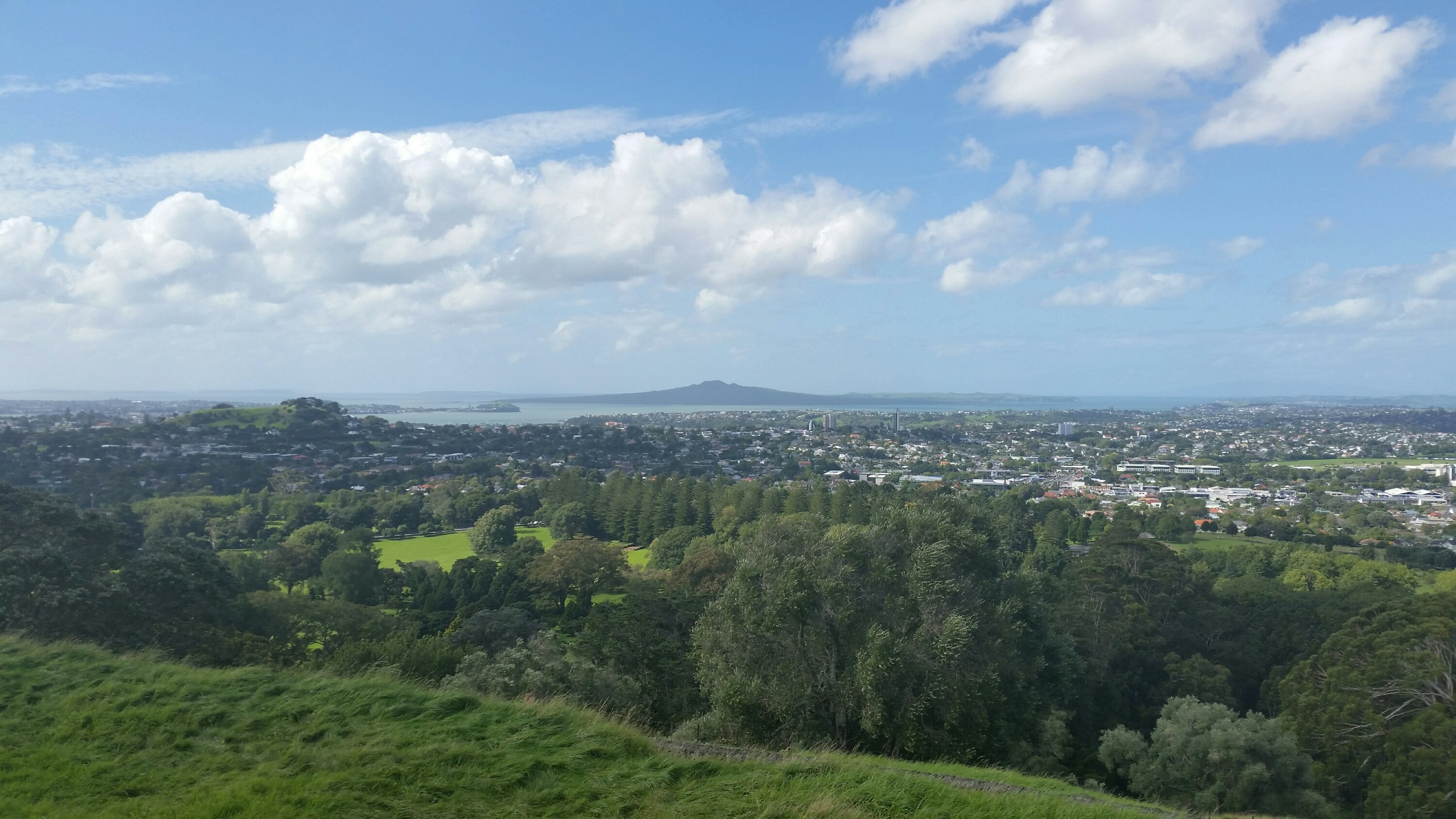 Auckland View to East